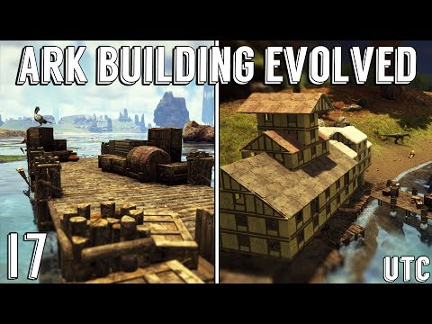 Ark Building Evolved w/ UTC :: Docks + Harbor Builds :: Our