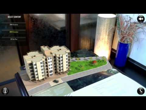 Real Estate Augmented Reality Example