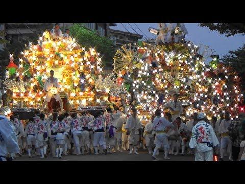 前田祇園山笠 2018年度 競演会 北九州市八幡東区