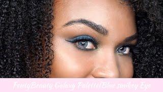 Fenty Beeauty Galaxy Palette Blue Smokey Eye