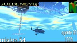 GoldenEye-007 (N64) Gameplay Walkthrough Mission 54 cladre Agente 00 Al 100%