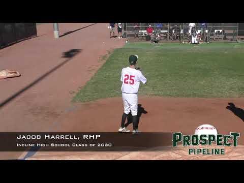 Jacob Harrell Prospect Video, RHP, Incline High School Class of 2020