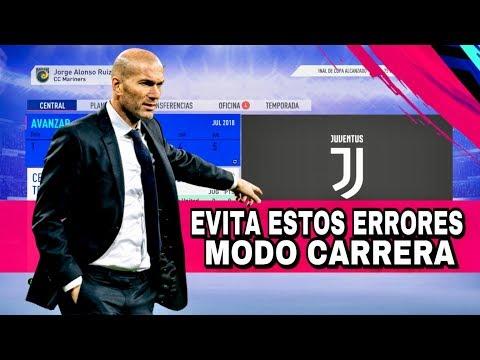 FIFA 19 - 8 ERRORES QUE NO DEBES COMETER EN EL MODO CARRERA