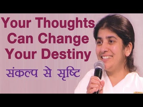 Your Thoughts Can Change Your Destiny: Subtitles English: BK Shivani