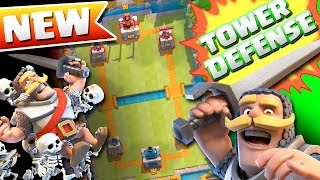 NEW TOWER DEFENSE GAME  ::  CLASH OF CLANS TOWER DEFENSE!!! SUPERCELL'S NEW GAME!