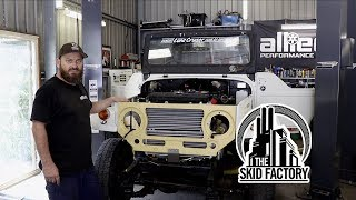 Download THE SKID FACTORY - V12 Twin Turbo BJ40 LandCruiser [EP5] Mp3 and Videos