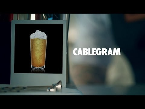 CABLEGRAM DRINK RECIPE - HOW TO MIX