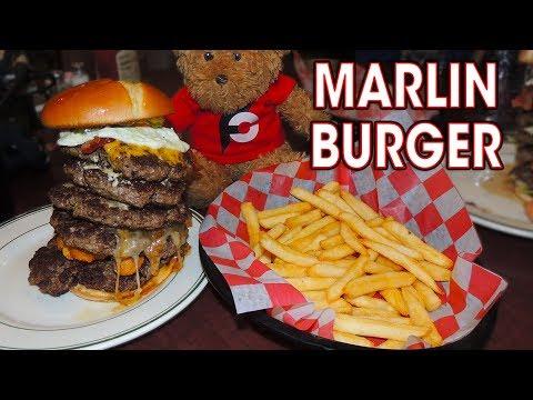 MARLIN'S BURGER CHALLENGE IN NORTH DAKOTA!!