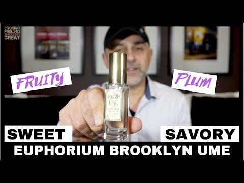 Euphorium Brooklyn Ume Fragrance Review + Win Full 30ML Bottle USA Giveaway