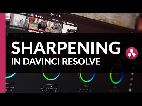 Sharpening Your Footage | Davinci Resolve Tutorial