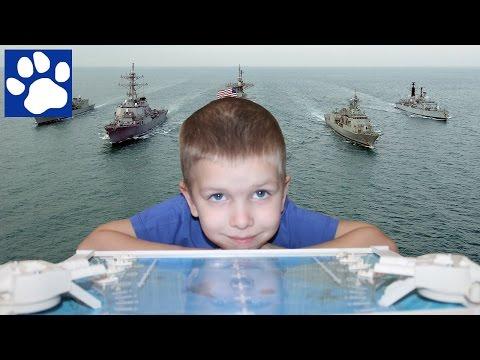 Играем в настольную игру Морской Бой | Play a board game Sea Battle