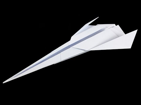how to make a fast paper airplane nija stars