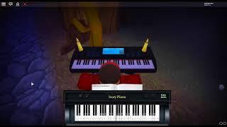 Avengers Infinity War Medley by: Alan Silvestri & Idris Elba on a ROBLOX piano. [Samuel Fu's Arr.]