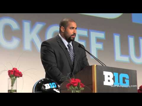 John Urschel Big Ten Kickoff Luncheon Speech