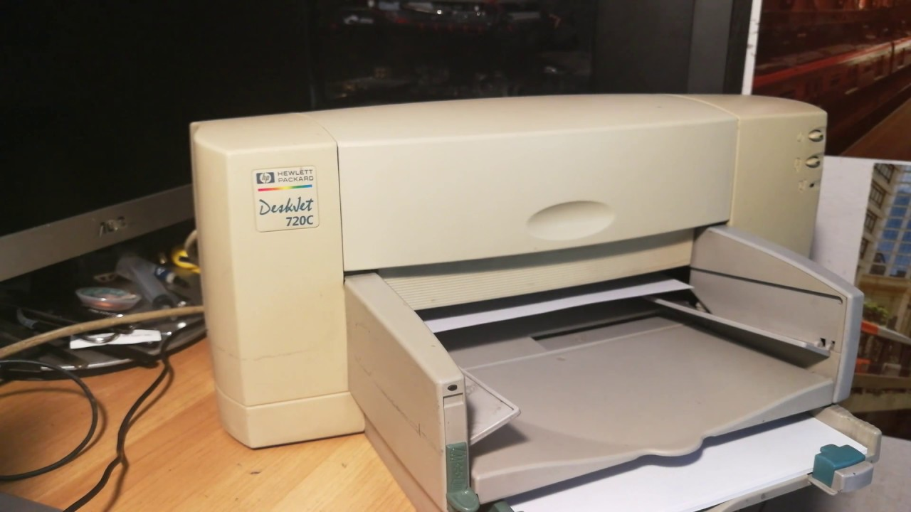 DRIVER: HEWLETT PACKARD DESKJET 810C PRINTER