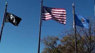 POW/MIA Flag, USA Flag and Pledge 034.MTS