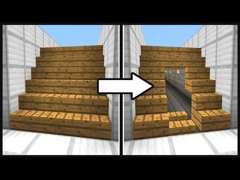видео: Майнкрафт: Секретный проход под лестницей - МЕХАНИЧЕСКИЙ ДОМ против гриферов в minecraft механизм