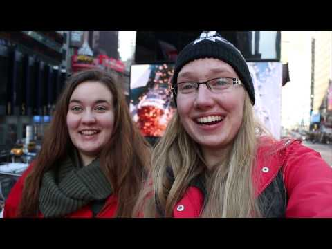 VIU students study abroad in New York
