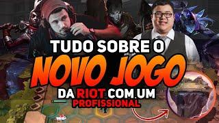 TUDO SOBRE O NOVO JOGO DA RIOT COM UM PROFISSIONAL - TEAMFIGHT TACTICS