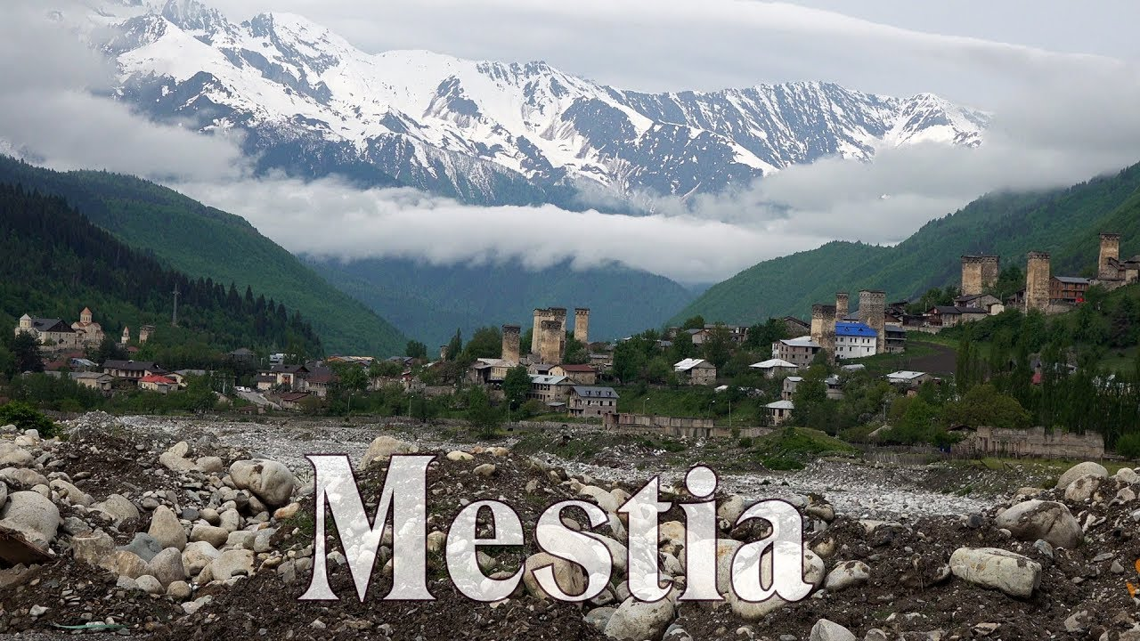 Georgia 4K - Mestia - the Most Magical Place