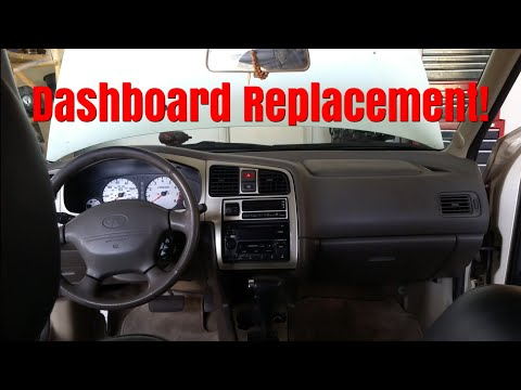 Here Is How To Install A Dashboard On A 1999-2002 Infiniti G20!