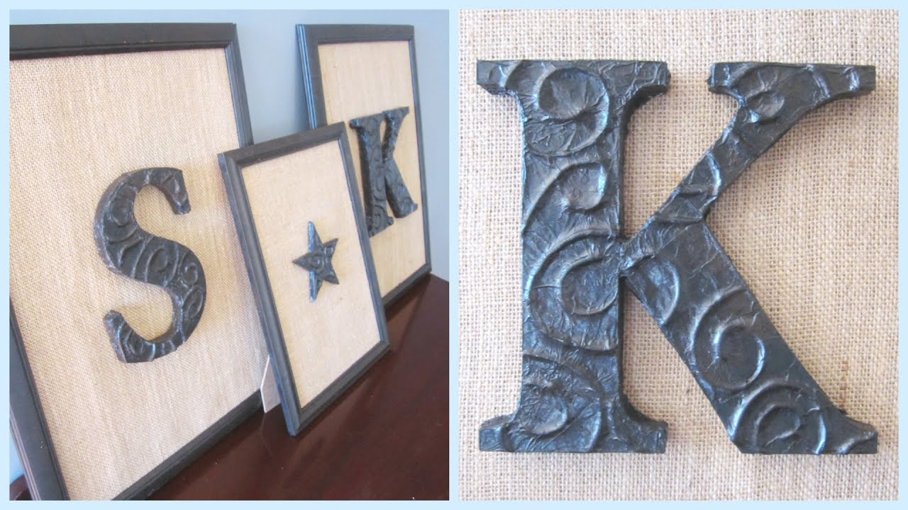 Diy Decor Foil Letters You