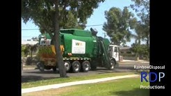 Waste Management Garbage Trucks - Santa Ana, CA