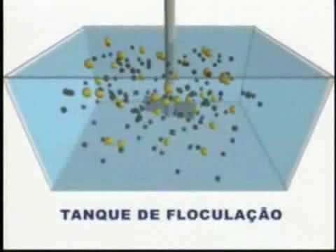 Resultado de imagem para imagem floculação sabesp