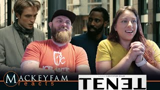 TENET - NEW TRAILER- REACTION and REVIEW!!!