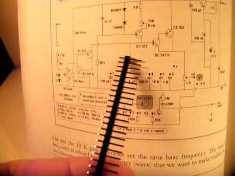 Sawtooth & time base generator for e g  an oscilloscope: schematic (0,05 Hz  - 50 KHZ)