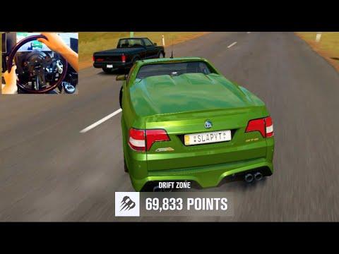 Forza Horizon 3 GoPro Holden Ute Drift Zone Challenge!