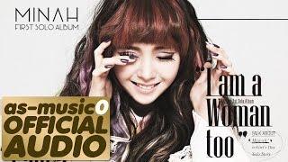 [MP3/DL]05. MinAh (민아) [Girl's Day] - I am a Woman too (Instrumental)