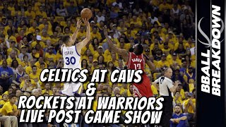 Rockets At Warriors LIVE POST GAME SHOW