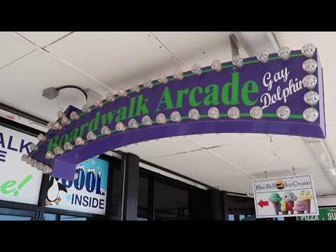 Myrtle Beach Boardwalk POV Tour & Plyler Park | Attractions
