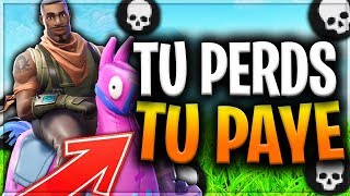 SI TU PERDS, TU PAYE EN 2 VS 2 SUR FORTNITE BATTLE ROYALE ?!!