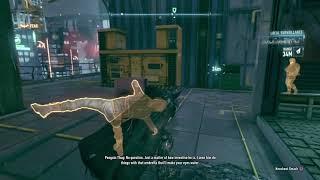 BATMAN™: ARKHAM KNIGHT-Rescue Nightwing/Penguin lockup