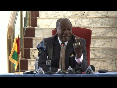 """Guinean President Alpha Conde calls for """"model election"""""""