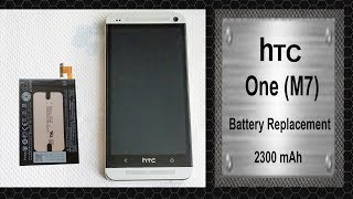 HTC One M7   Battery Replacement 2300mAh