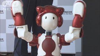 ロボット同士が連携して道案内してくれるヒト型ロボットの実証実験が羽...