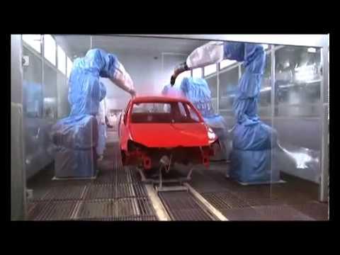Volkswagen Cars - Paint Process | AutoInfoz.Com