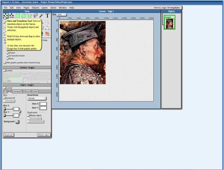 Tutorial: The Fatpaint.com user interface. A free online photo ...