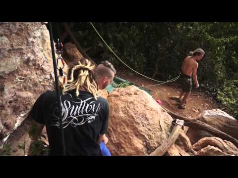 Free Fall Body Suspension Full Video - Tonsai Thailand. Piercing to jumping!