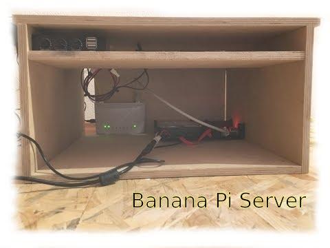 Homemade Banana Pi Server Rack