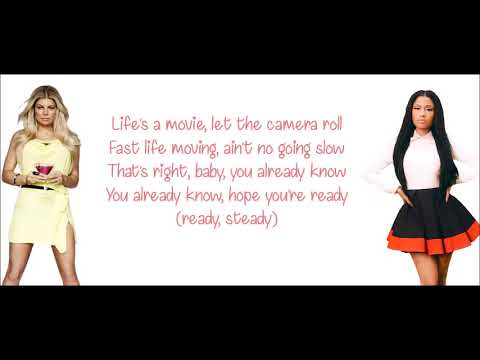 Fergie - You Already Know ft. Nicki Minaj [Official lyrics]