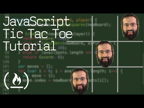 JavaScript Tic Tac Toe Project Tutorial  - Unbeatable AI w/