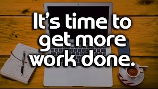 How To Be More Productive - Reverse-Engineer your day for Productivity and Time Management Tips
