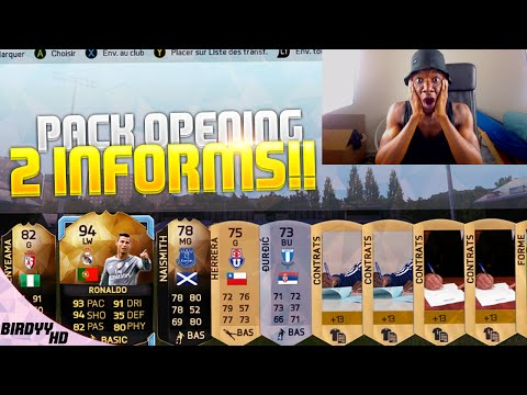 FUT 16 - PREMIER PACK OPENING ON TAPE 2 INFORM ROAD TO RONALDO IF !!!!
