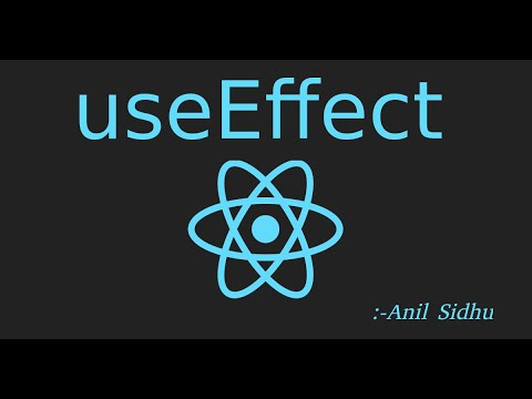 React js Tutorial #35 useEffect with example (use effect) thumbnail