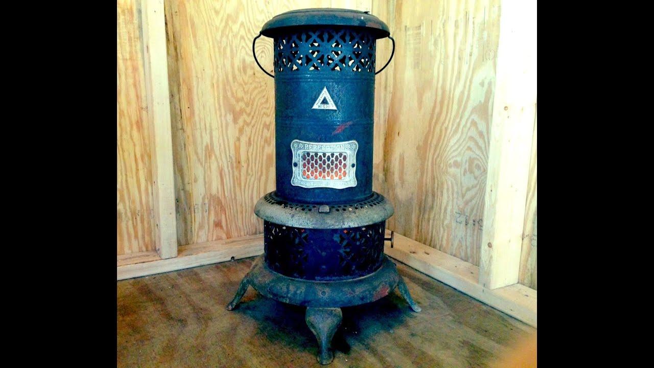 100 year old tiny house heater YouTube