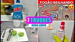 7 MEGA TRUQUES que TODA DONA de CASA PRECISA SABER 2018 HD